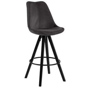 Barová Židle Dima Tmavě Šedá