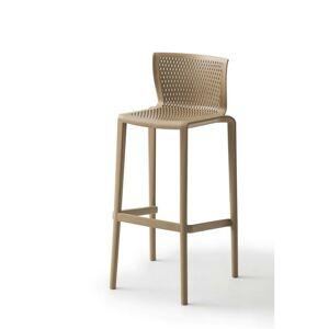 Barová Židle spiker Plast Šedohnědá