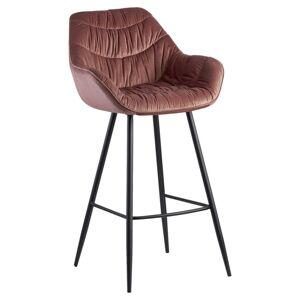 Barová Židle Wohnling Růžová