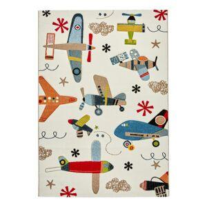 Dětský koberec Letadla, 120/170cm