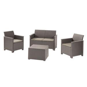 Keter EMMA 2 seaters sofa set - cappuccino