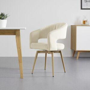 Jídelní Židle Otoční Isabella Béžová