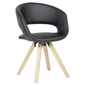 Jídelní Židle s područkami Černá