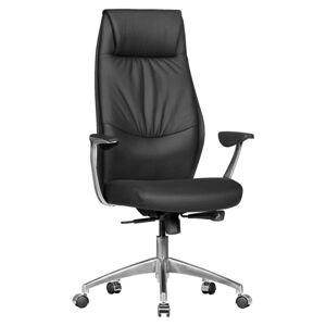 Kancelářská Židle Oxford 1 Černá Kůže