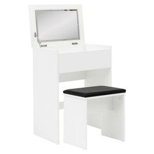kosmetický stolek schminktisch Bílý