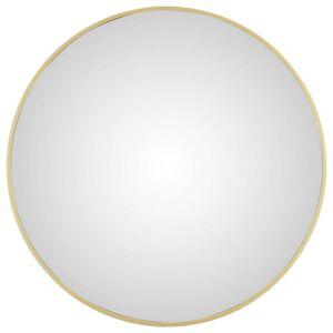 Nástěnné Zrcadlo konkav Zlatá 45 Cm