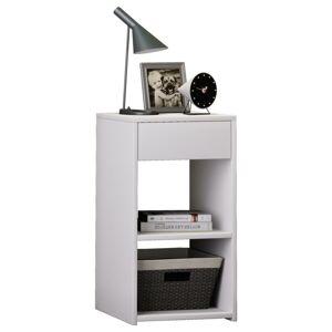 Noční stolek sledo Maxi V Bílé Barvě