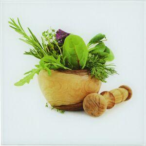Obraz skleněný Fresh kitchen Herbs
