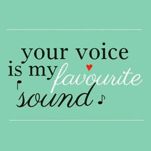 Obraz skleněný My Favourite sound