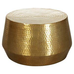 Odkladací stolek MAHESH zlatý
