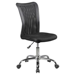 Otočná Židle Pro Dítě Lukas Černá