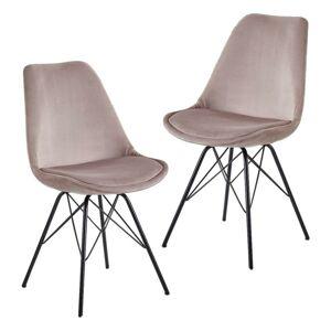 Sada Židlí Růžová