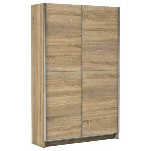 Skříň S Posuvnými Dveřmi Slim 125cm