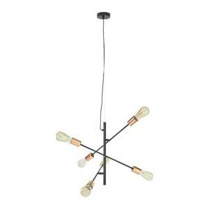 Svítidlo Závěsné Kuno Ø/v: 55/149cm, 15 Watt