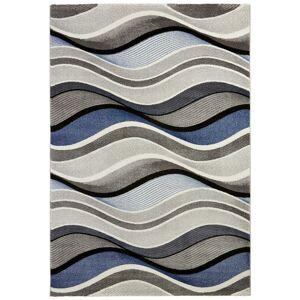 Tkaný koberec Bill 1, 80/150cm, Modrá