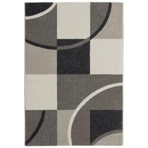 Tkaný koberec Palermo 1, 80/150cm, Šedá