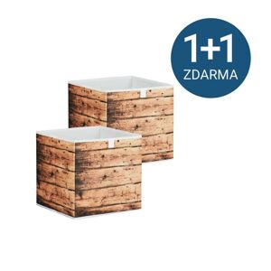 Úložný Box Poppi 4 1+1 zdarma