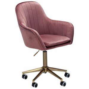 Židle K Psacímu Stolu Růžová