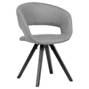 Židle s Opěrkou Armlehnstuhl světlešedá